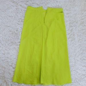 Forever 21 Noen Green Skirt..